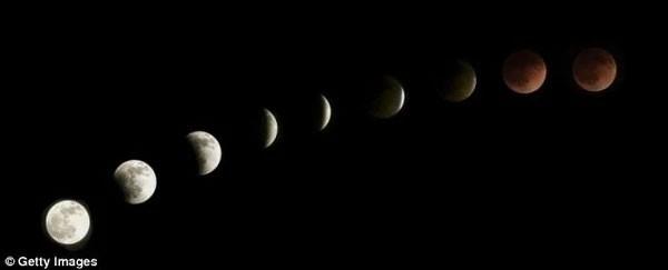"""Chờ đón hiện tượng """"Siêu trăng máu"""" lần đầu tiên xuất hiện trong 30 năm - anh 4"""