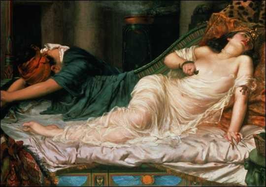 Cleopatra tự tử bằng rắn độc: Sự thực hay chỉ là truyền thuyết? - anh 2