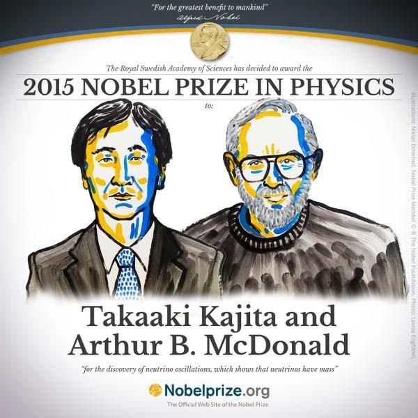 """Nobel Vật lý được trao cho người giải mã bí ẩn hạt neutrino """"ma quái"""" - anh 3"""