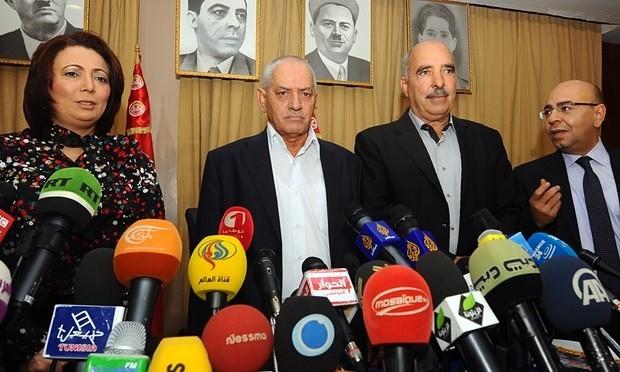Nobel Hòa bình 2015: Bộ tứ Đối thoại Quốc gia Tusinia là ai? - anh 1