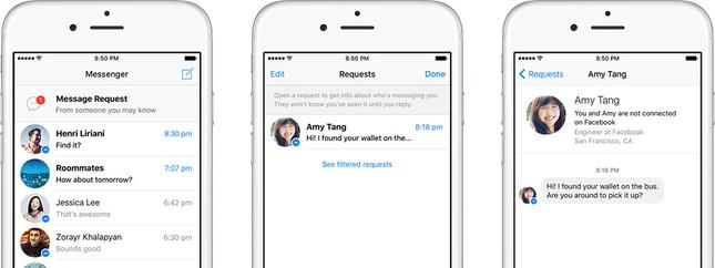 Facebook ra mắt tính năng mới giúp gửi tin nhắn tới bất kỳ ai dễ hơn - anh 1