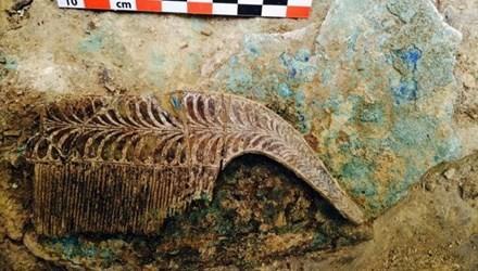 Phát hiện mộ chiến binh 3.500 tuổi với vô vàn đồ quý hiếm - anh 1