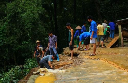 Sạt lở nghiêm trọng tại Hà Giang, 7 người thiệt mạng - anh 1