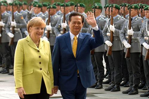 Quan hệ Việt Nam - Liên Bang Đức: Hứa hẹn năm 2015 đầy sôi động - anh 1