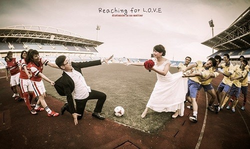 Những bộ ảnh cưới đẹp - độc - lạ của các cặp đôi Việt - anh 9