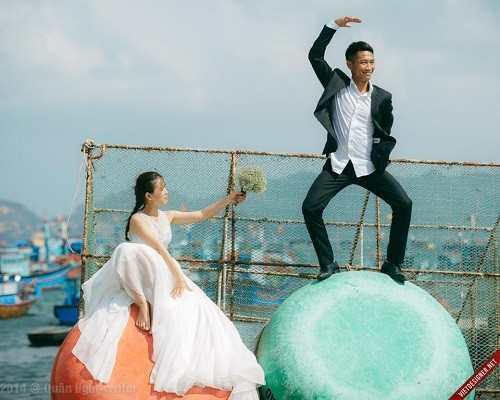 Những bộ ảnh cưới đẹp - độc - lạ của các cặp đôi Việt - anh 10