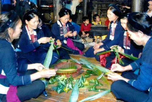 """Độc đáo nghi thức """"Múa tắc xình"""" của người Sán Chay - anh 7"""
