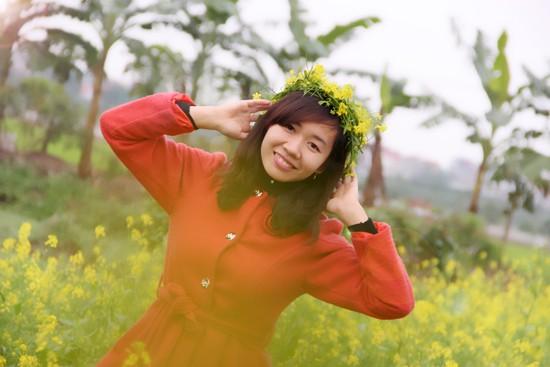 Mê mẩn ngắm sắc hoa cải vàng rực rỡ đầu đông - anh 4