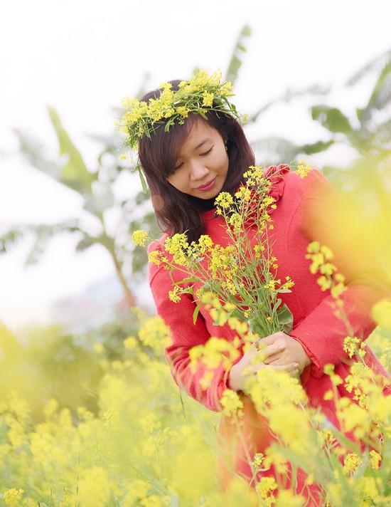 Mê mẩn ngắm sắc hoa cải vàng rực rỡ đầu đông - anh 9