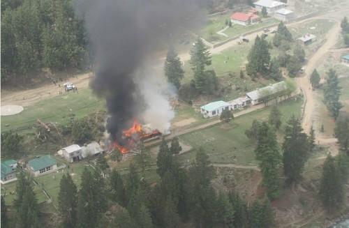 Vụ rơi trực thăng ở Pakistan: Nhân chứng nói gì? - anh 1