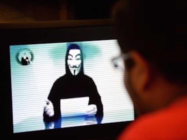 Thành viên Anonymous tuyên bố phủ nhận chiến dịch chống IS - anh 1