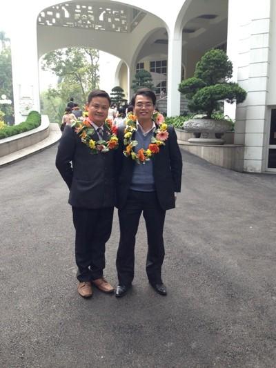 Chân dung 2 nhà khoa học trẻ đạt giải Quả Cầu vàng - anh 1