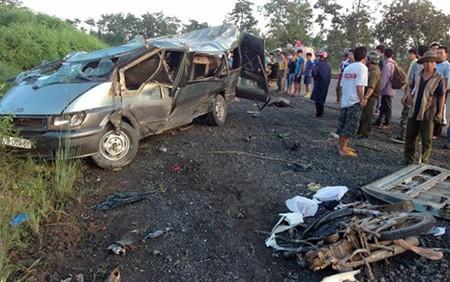 Vụ tai nạn thảm khốc ở Đắk Lắk: Lái xe dương tính với ma túy - anh 3