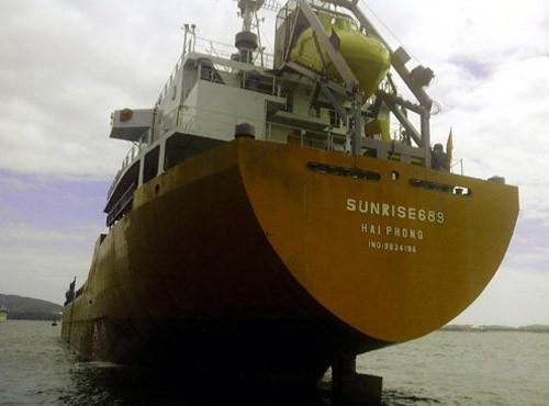Tàu Sunrise được cướp biển thả, đang trên đường về Việt Nam - anh 1