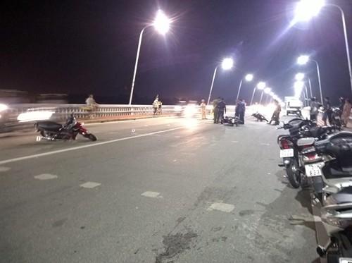 Tai nạn giao thông trên cầu, 1 người tử vong - anh 2