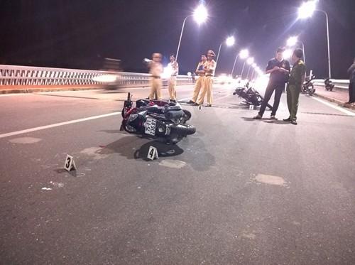 Tai nạn giao thông trên cầu, 1 người tử vong - anh 1