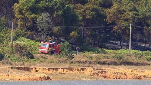 Hà Nội: Cháy rừng gần kho quân sự tại Sóc Sơn - anh 2