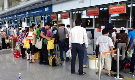 Một hành khách bị từ chối vận chuyển vì thông tin có mìn trong hành lý - anh 1