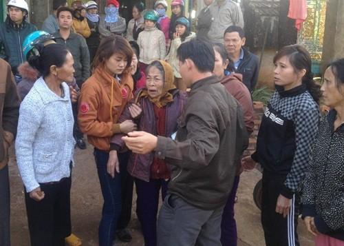 Gia Lai: Truy sát cả gia đình trong đêm, bố và con gái bị đâm chết - anh 2