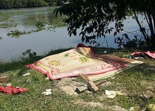 Long An: Vợ dẫn 2 con nhảy sông tự tử vì... giận chồng - anh 1