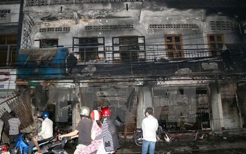 Hỏa hoạn tại công ty điện máy, nhiều tài sản bị thiêu rụi - anh 1