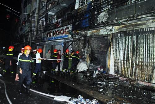 Hỏa hoạn tại công ty điện máy, nhiều tài sản bị thiêu rụi - anh 2