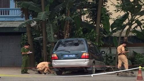 Xe biển xanh gây tai nạn ở Phú Thọ: Một học sinh tử vong - anh 1