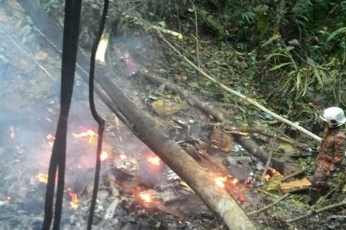 Rơi trực thăng ở Malaysia, quan chức cấp cao và 5 người thiệt mạng - anh 1