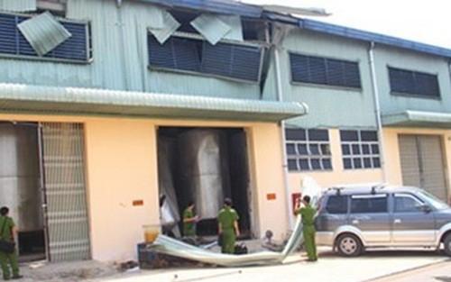 Đồng Tháp: Bất ngờ nổ bình chứa cồn, 1 người tử vong tại chỗ - anh 1