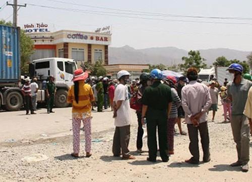 Vụ người dân chặn QL1A: Bình Thuận báo cáo Thủ tướng - anh 1