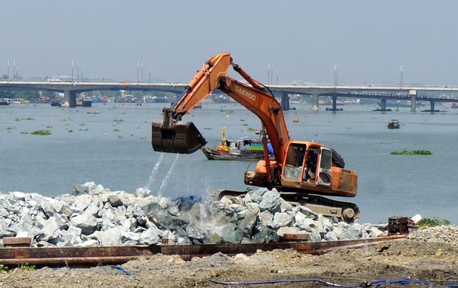 Hôm nay (21/4), 4 Bộ thị sát dự án lấp sông Đồng Nai - anh 1
