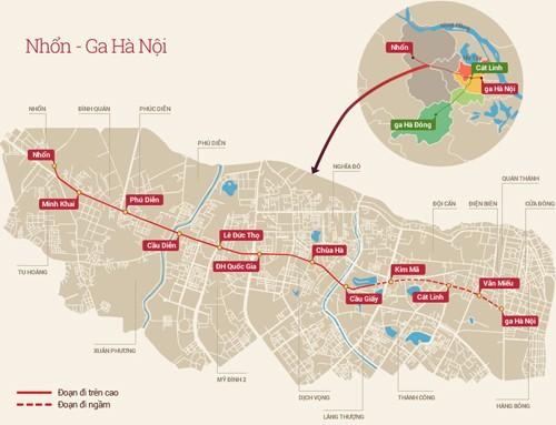 Dừng thi công nhà ga tuyến Metro Nhổn - Ga Hà Nội sau vụ rơi sắt - anh 2