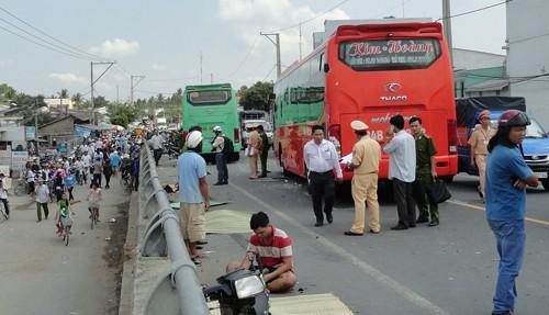 Tài xế xe khách tông chết 4 người ở Trà Vinh luôn bị ám ảnh sau vụ tai nạn - anh 2