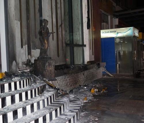 Thái Bình: Cháy khách sạn 4 sao, nhiều người hoảng loạn - anh 2
