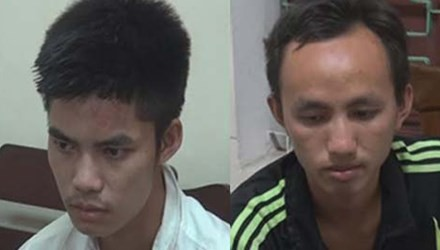 Nghệ An: Bắt 2 sinh viên buôn ma tuý - anh 1