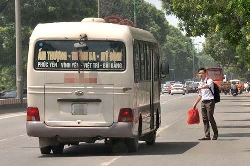 Đề xuất xử phạt hành khách bắt xe dọc đường - anh 1