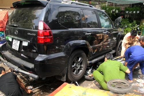 TP HCM: Tài xế Lexus tông chết người ra đầu thú sau hơn nửa năm bỏ trốn - anh 2