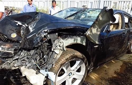 Thượng úy CSGT lái ôtô BMW biển số giả tông chết 2 người - anh 2