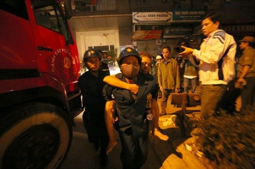 Nhân chứng kể lại khoảnh khắc chung cư Xa La ở Hà Nội bốc cháy - anh 4