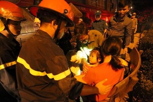 Nhân chứng kể lại khoảnh khắc chung cư Xa La ở Hà Nội bốc cháy - anh 5