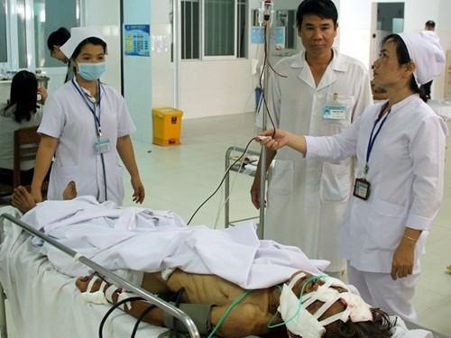 Quảng Nam: Lợn rừng bất ngờ tấn công, 5 người bị thương - anh 2