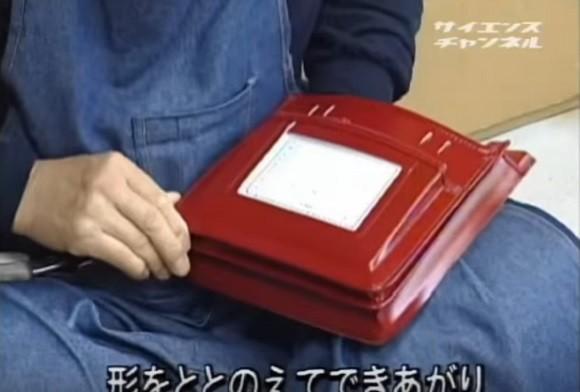 Quy trình làm cặp sách chống gù lưng tại Nhật Bản - anh 9