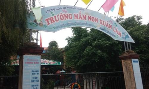 Bắc Ninh: Bé mầm non gãy chân ở trường, phụ huynh bức xúc - anh 2