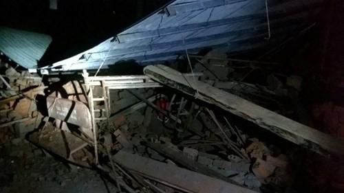 TP HCM: Sập nhà đang xây, 11 người thương vong - anh 1