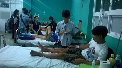 TP HCM: Sập nhà đang xây, 11 người thương vong - anh 2
