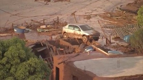 Vỡ đập tại Brazil: Ít nhất 17 người thiệt mạng, 45 người mất tích - anh 1