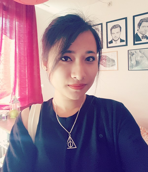 Nữ du học sinh Việt tại Đức vẽ tranh đẹp như họa sĩ - anh 2