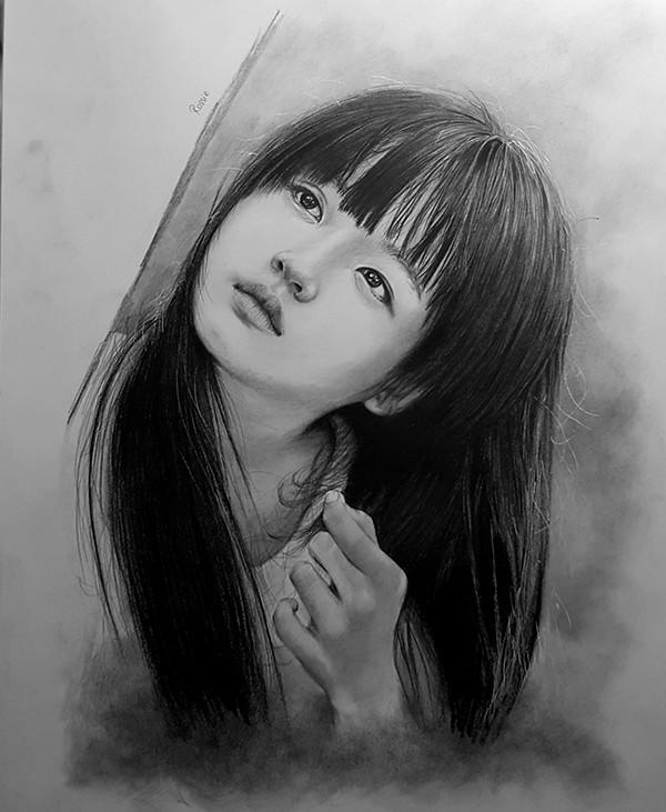 Nữ du học sinh Việt tại Đức vẽ tranh đẹp như họa sĩ - anh 10