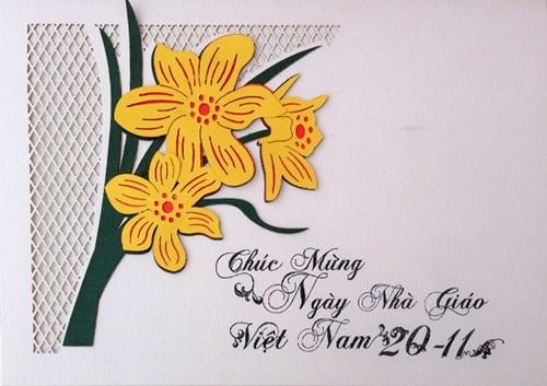 Tổng hợp mẫu thiệp chúc mừng ngày nhà giáo Việt Nam 20/11 - anh 11