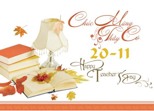 Tổng hợp mẫu thiệp chúc mừng ngày nhà giáo Việt Nam 20/11 - anh 14
